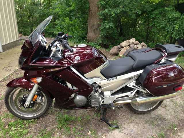 Runs Great 2007 Yamaha Fjr Runs Great