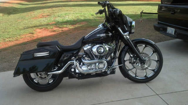 Great Riding Condition 2008 Harley - Davidson Touring Street Glide