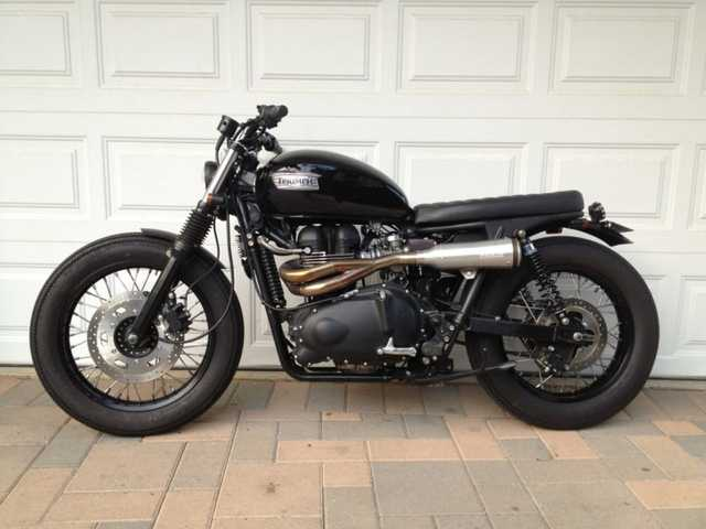 Excelent Conditions 2008 Triumph Bonneville Excelent Conditions