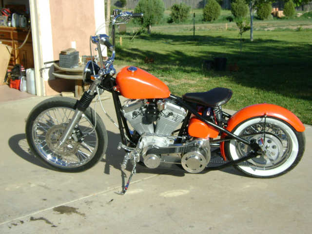 Extremely Clean 2009 Custom Built Motorcycles Bobber