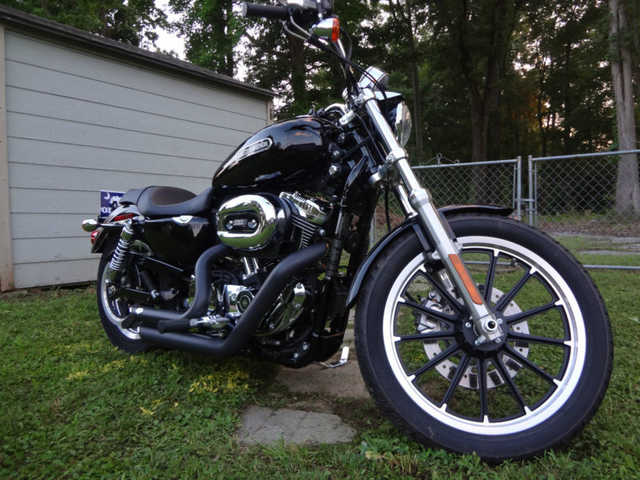 Very Cool 2009 Harley - Davidson Xl 1200 Low Sportster Very Cool