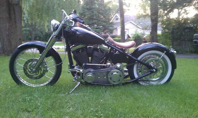 Excelent Conditions 2011 Custom Built Motorcycles Bobber