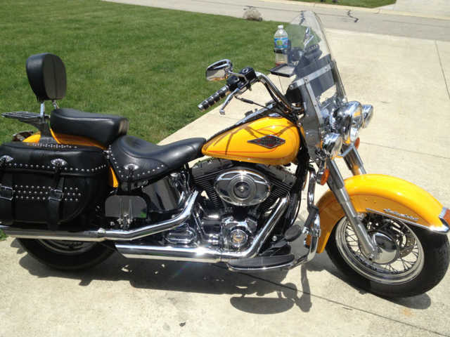 Never Been Down 2011 Harley Davidson Heritage Softtail Classic