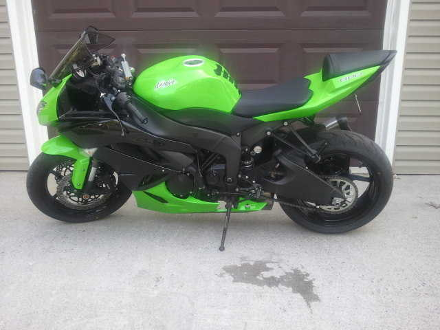 Beautiful Conditions2012 Kawasaki Ninja Zx6r Beautiful Conditions