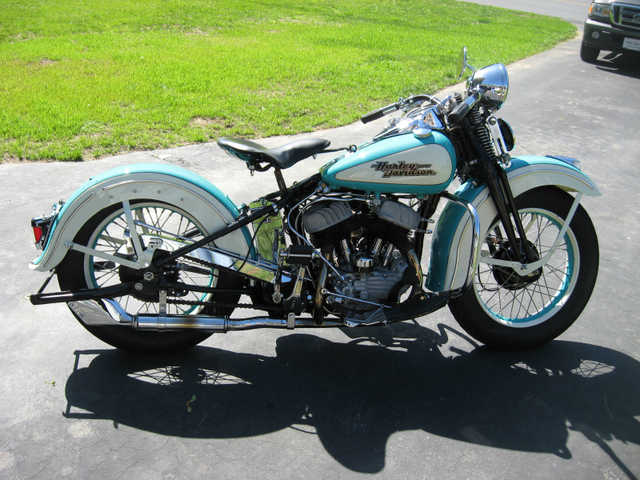 Very Very Good Conditions1942 Harley Davidson Wla Very Very Good
