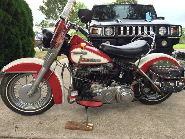 Great Shape 1950 Harley Davidson Panhead Hydra Glide Great Shape