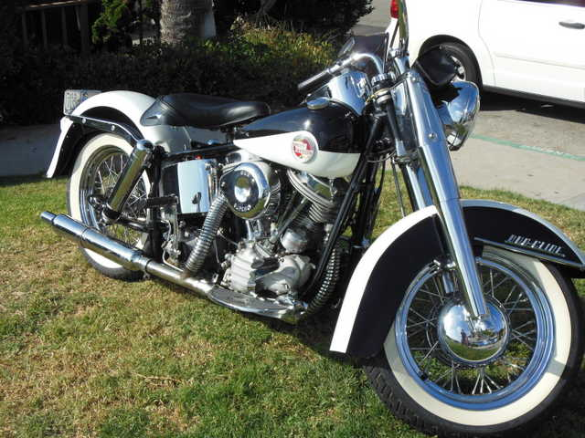 Runs Great 1958 Harley Davidson Fl Panhead Runs Great