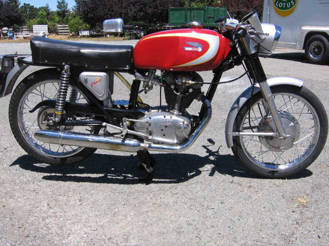 Garage Kept 1966 Ducati 250 Mark 3 With M1 Engine Garage Kept