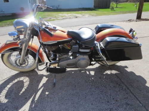 Pristine Conditions 1968 Harley Davidson Flh Electra Glide