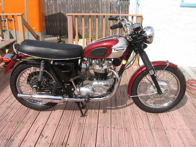 Very Very Good Conditions 1970 Triumph Bonneville T120r