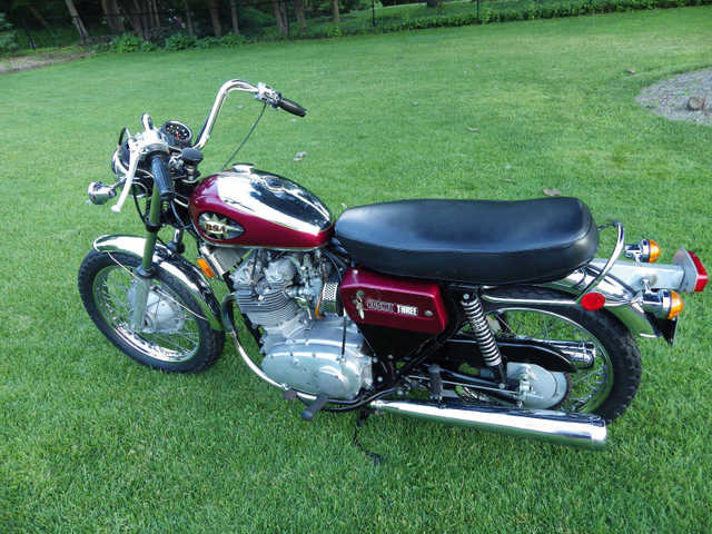 Great Shape 1972 Bsa Rocket Three 3 A75r Great Shape