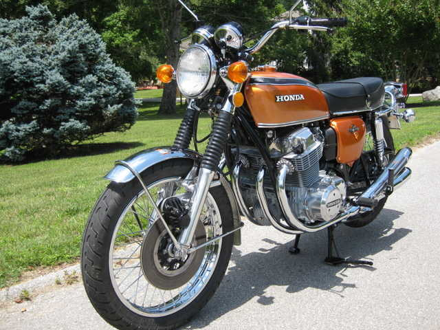 Excelent Conditions 1972 Honda Cb750 Complete Restoration