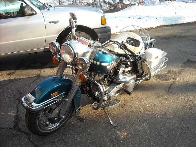 1974 Harley Davidson Flh Electra Glide Never Been Down