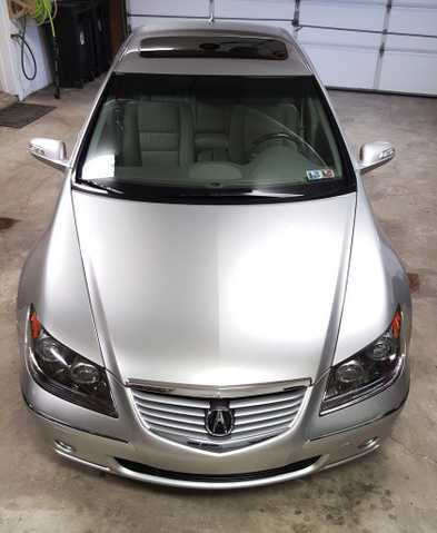 2006 Acura Rl Base Sedan 4 - Door 3.5l