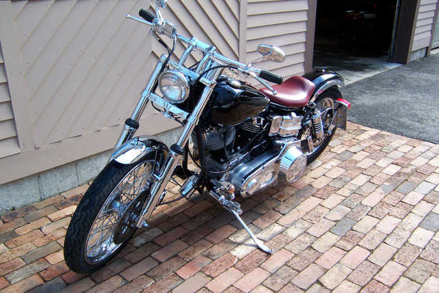 Excellent Paint 1981 Harley Davidson Fxe Excellent Paint