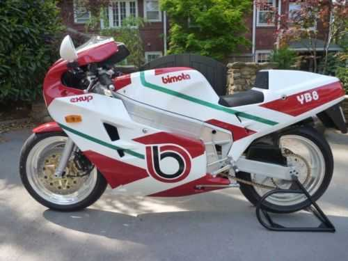 Extremely Clean 1991 Bimota Yb8 Extremely Clean