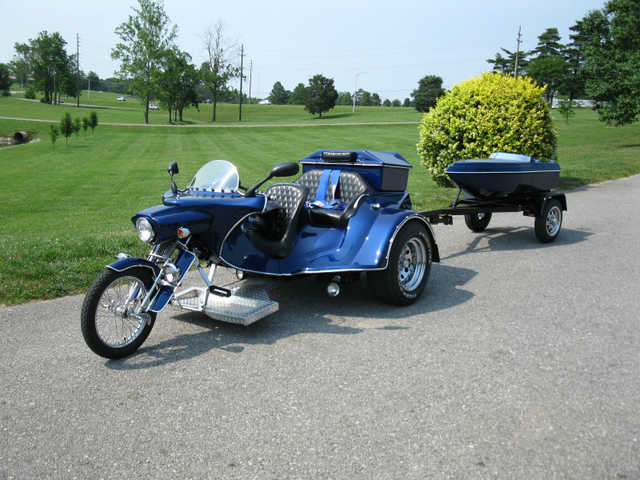 Immaculate Condition 1992 Phenox Stallon Trike By Custom