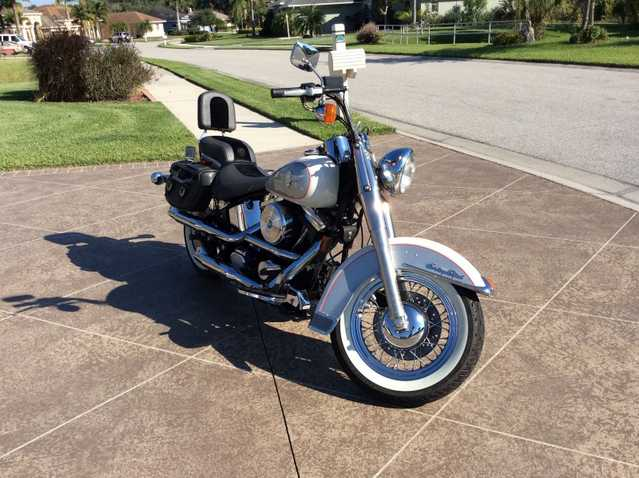Runs And Drives Great 1994 Harley Davidson Heritage Softail