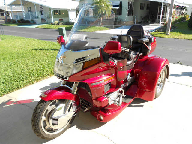 No Accidents 1995 Honda Goldwing 1500a Trike No Accidents