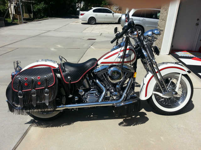 Great Shape1997 Harley - Davidson Softail Heritage Springer Flsts