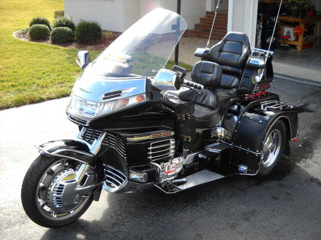 Never 1998 Honda Goldwing Gl1500se Tri - King Trike Never Been Down