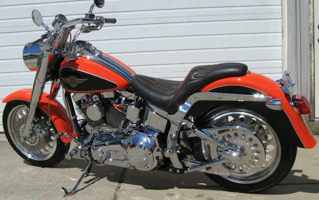 2001 Harley - Davidson Softail Factory Custom Pristine Conditions