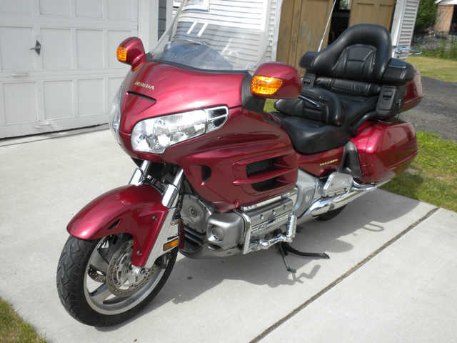 Beautiful Conditions 2001 Honda Gold Wing Beautiful Conditions
