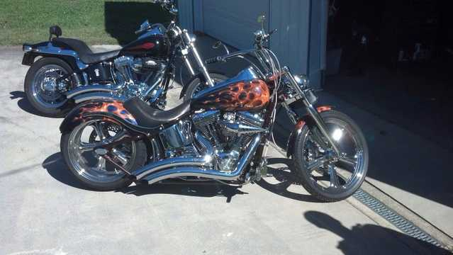 Never Been Down2002 Harley - Davidson Softail Deuce Never Been Down