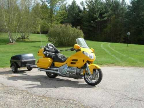 Extremely Clean 2002 Honda Goldwing With Trailer Extremely Clean