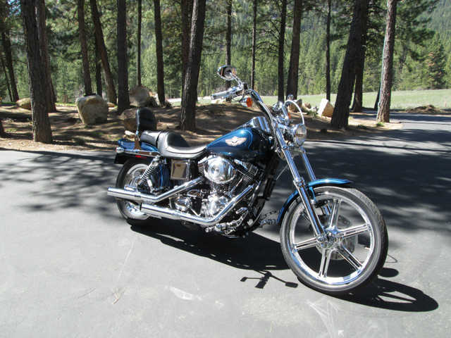 Very 2003 Harley Davidson 100th Anniversary Fxdwg Dyna Wide Glide