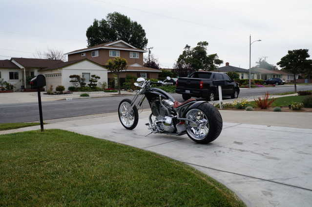 Always Garaged 2005 Custom Chopper Harley Davidson Always Garaged