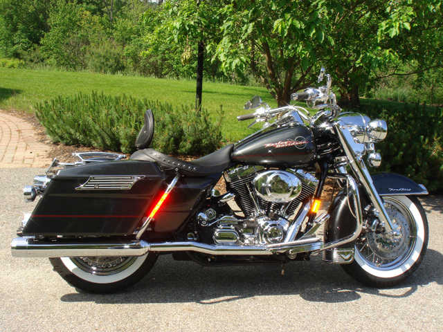 Excellent Pa2005 Harley Davidson Road King - Flhr Excellent Paint