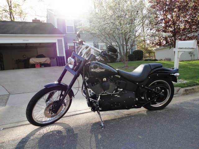 Very Nice2006 Harley - Davidson Fxstbi Softail Nigh Train Very Nice