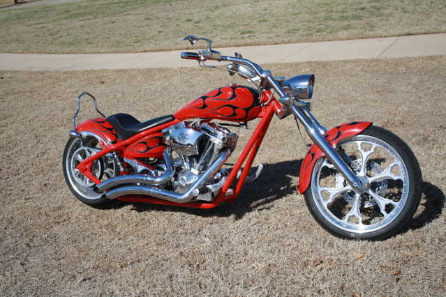 Never Been Do2007 Big Dog Pitbull Chopper 117 S&s Never Been Down
