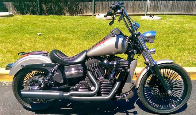 Mint Con2007 Harley Davidson Dyna Street Bob Fxdb Mint Conditions