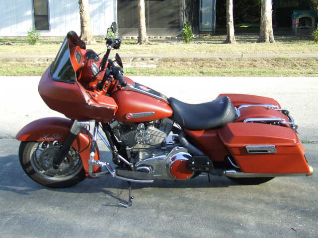 Always Garaged 2007 Harley Davidson Road Glide Custom