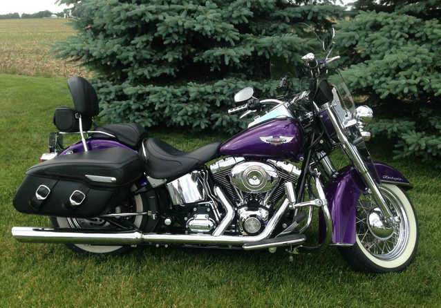 Mint Condi2007 Harley - Davidson Softail H - D Deluxe Mint Conditions