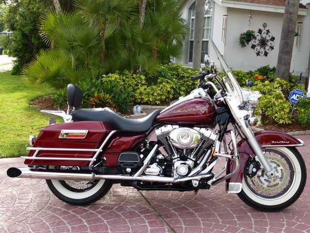 Mint Conditions 2008 Harley Davidson Flhrci Road King Classic