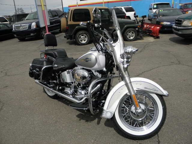 Very Well Conditions 2008 Harley Davidson Heritage Softail