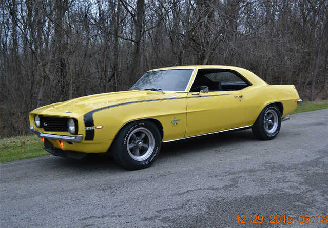 1969 Chevrolet Camaro At $3500