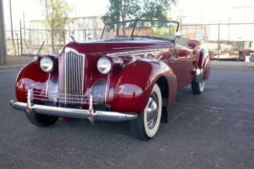 1940 Packard Darrin Roadster