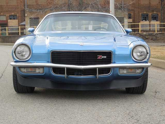 1970 Chevrolet Camaro Blue