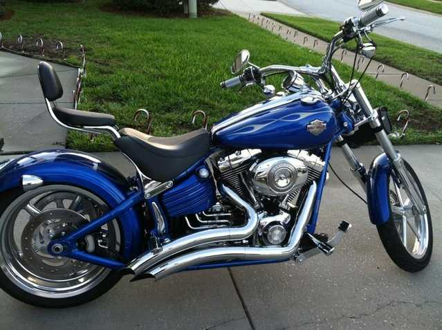 Very Very Good Conditions 2008 Harley Davidson Rocker C