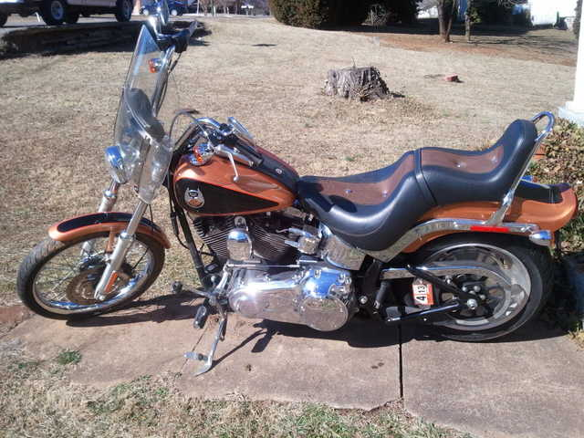 Great Shape 2008 Harley Davidson Soft Tail 105th Great Shape
