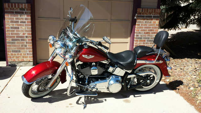 Excelent C2008 Harley Davidson Softail Deluxe Excelent Conditions