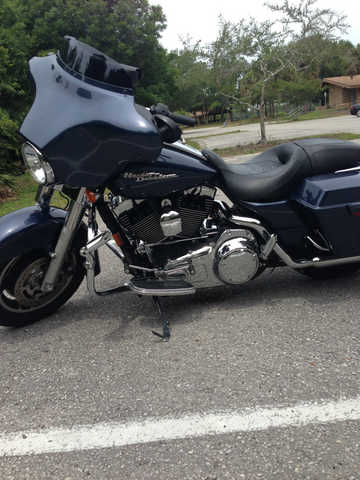Never Been Down 2008 Harley Davidson Street Glide Never Been Down