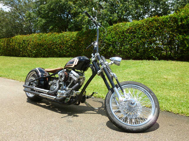 Garage Kept 2009 Custom Built Motorcycles Bobber Garage Kept