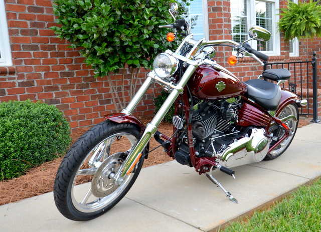 Very Very Good Conditions 2009 Harley Davidson Rocker C
