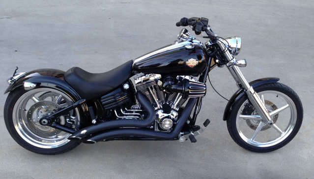 Very Very Good Conditions 2009 Harley Davidson Rocker C Fxcwc
