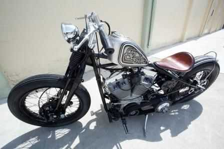 Very Very Good Conditions 2010 Custom Built Motorcycles Bobber